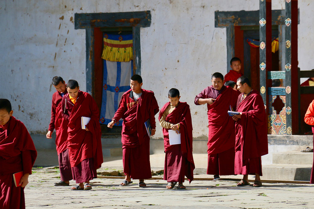 Local monks