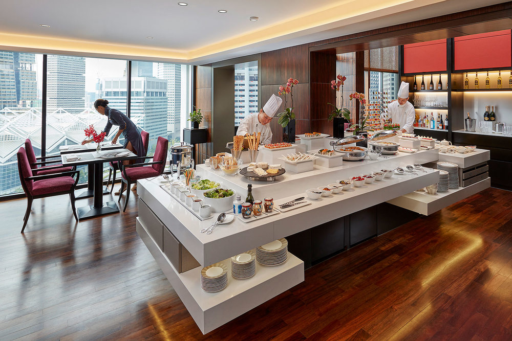 Mandarin Oriental Singapore – Club Lounge
