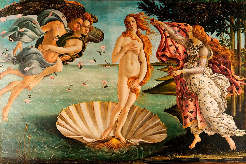 The Birth of Venus , Sandro Botticelli