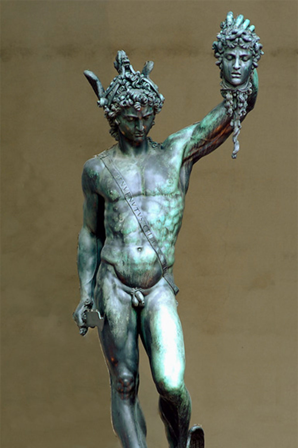 Perseus with the Head of Medusa,  Benvenuto Cellini