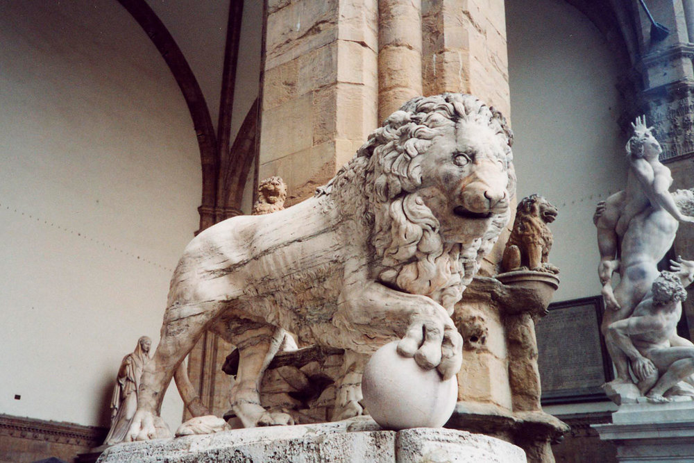 The Medici Lions , by Fancelli and Vacca