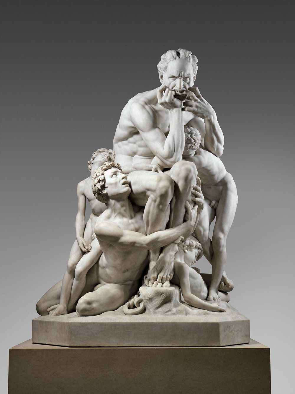 Ugolino and His Sons , Jean-Baptiste Carpeaux