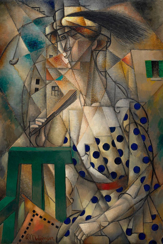 Femme à l'Éventail  by Jean Metzinger