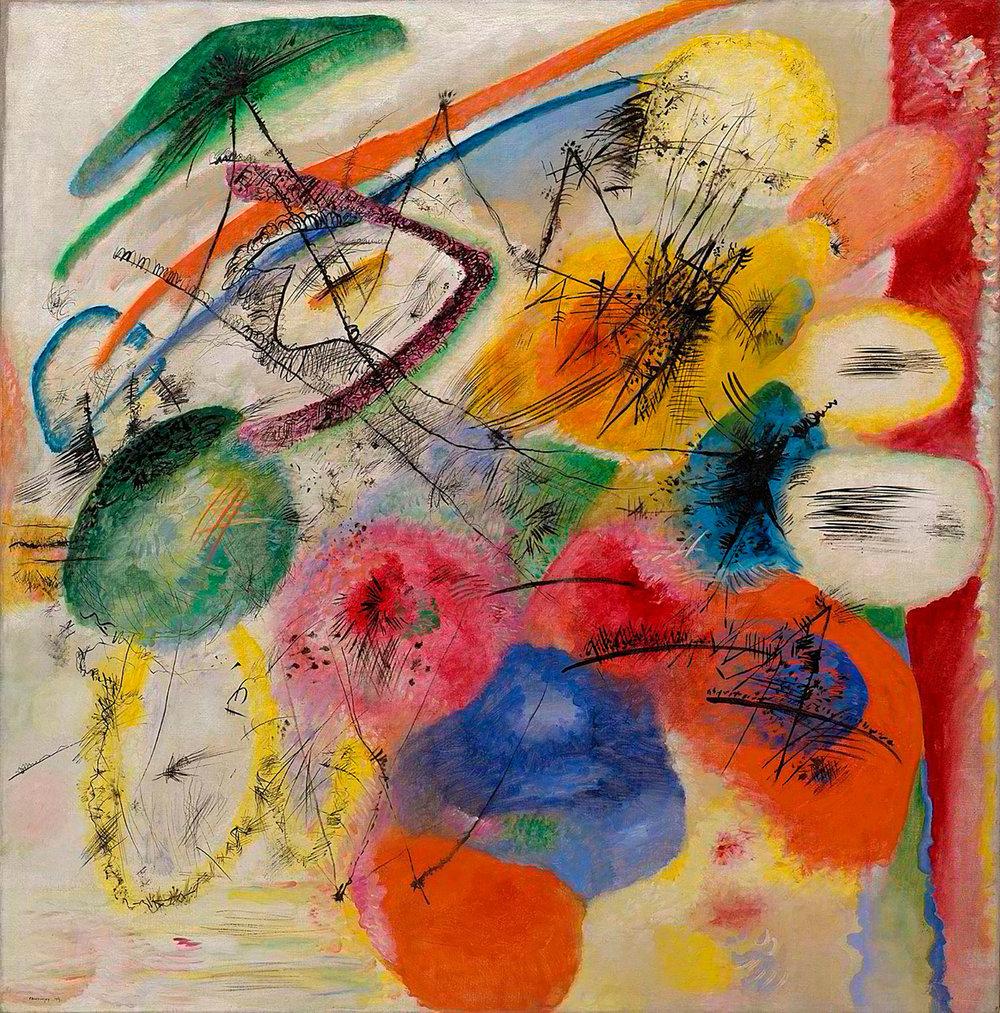 Black Lines , Wassily Kandinsky
