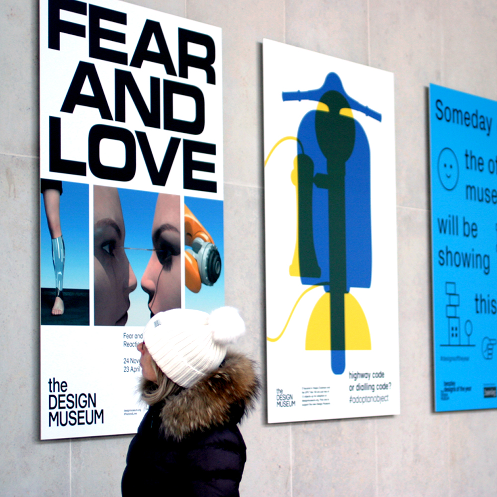 Fear and Love at the Design Museum