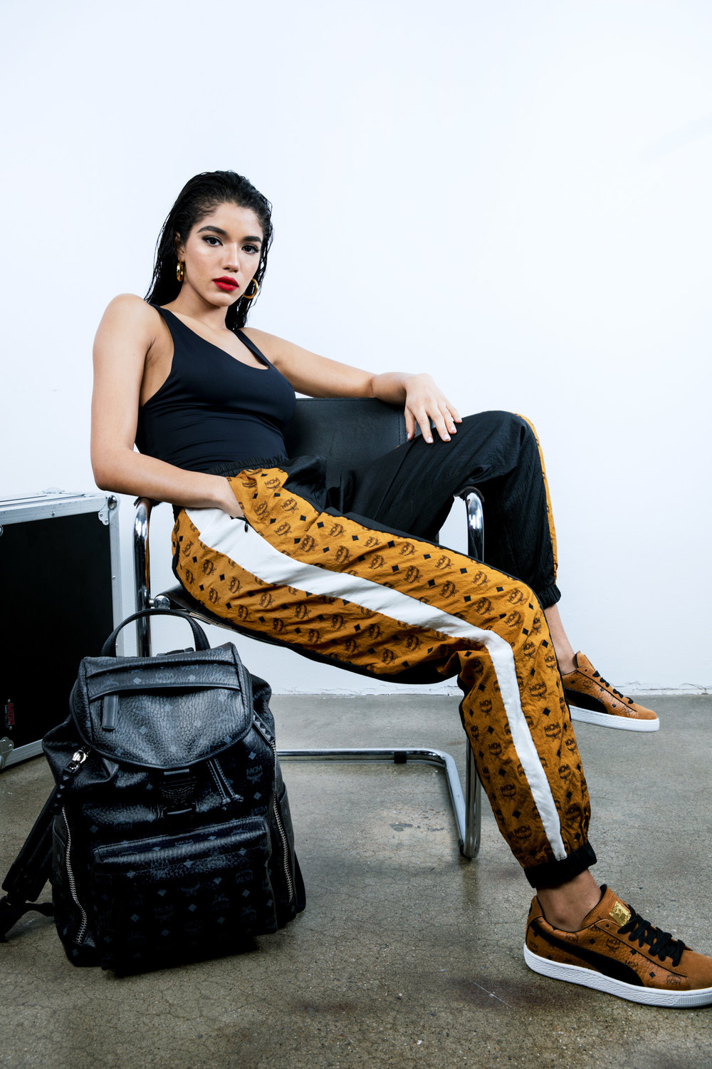 Yovanna Ventura by Raven B. Varona for MCM x Puma Collection