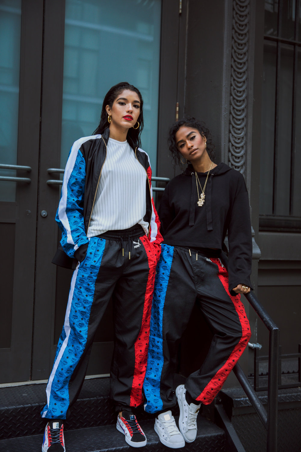 Yovanna Ventura and Vashtie by Raven B. Varona for MCM x Puma Collection