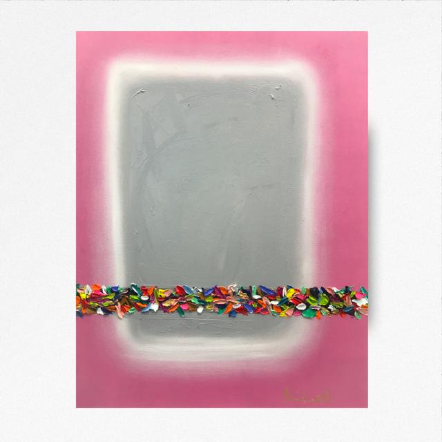 SOLD Confetti  18x24 - Oil on Canvas