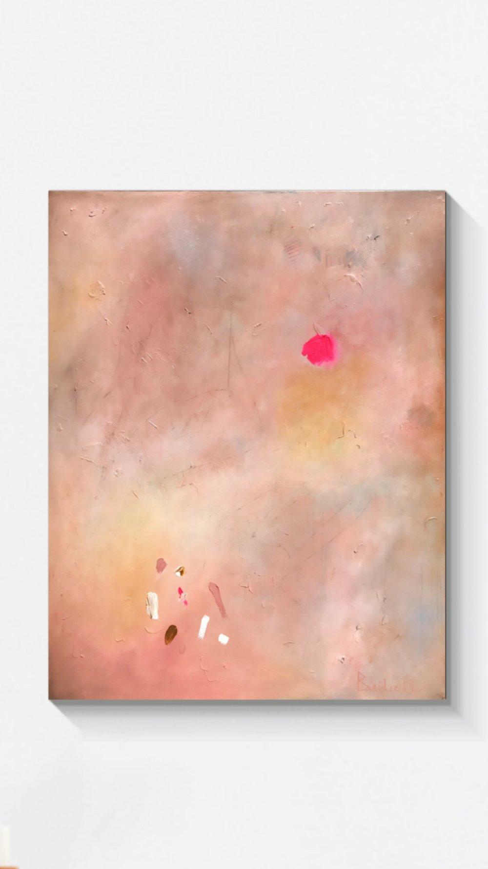 Millennial Pink II   60x48 - Oil on Canvas
