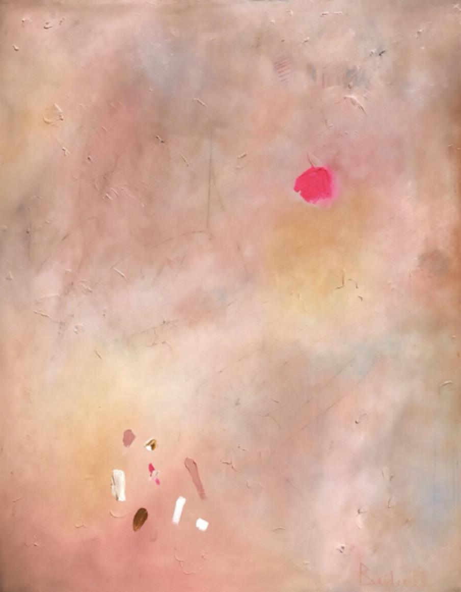 Millennial Pink 48x60 Oil $3000 Pieces of my heart.jpg