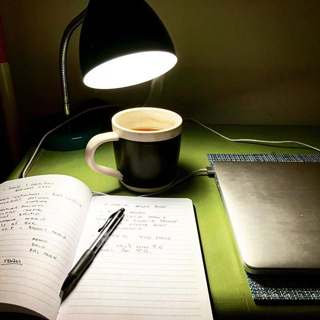 Work. Coffee. Light.