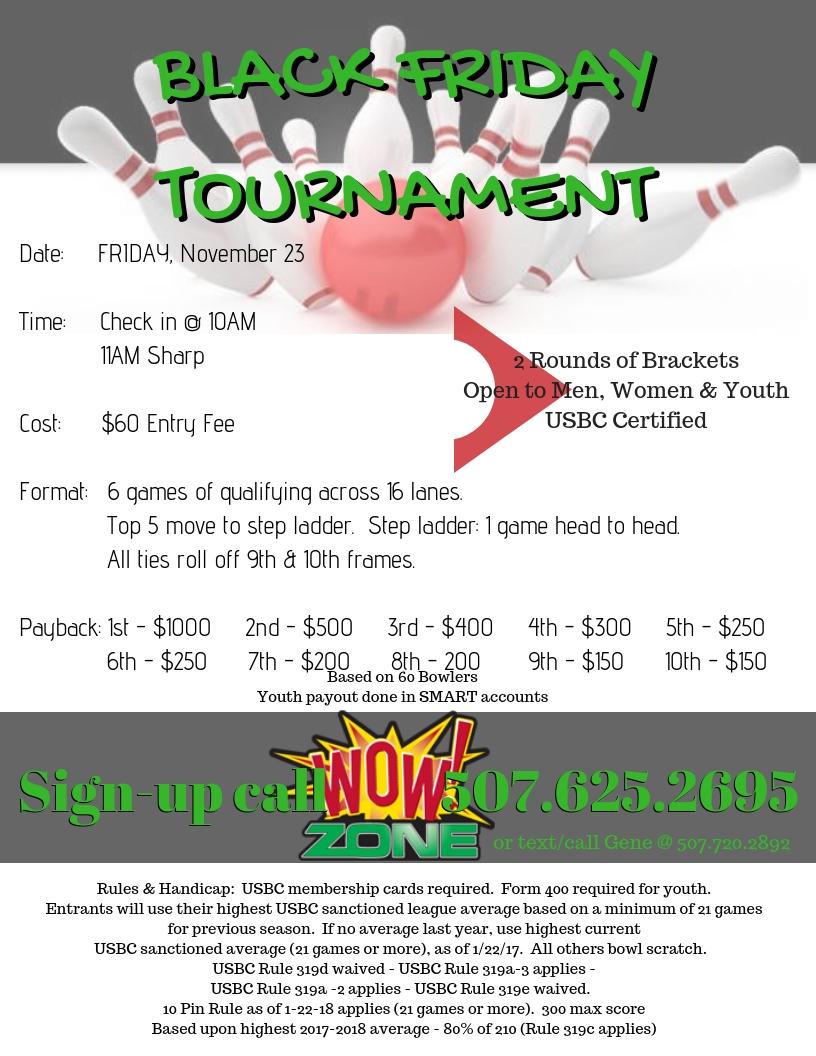 Tournament-BLACKFRIDAY-WOW!ZONE