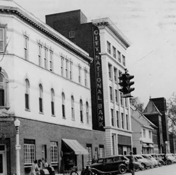 City National Bank Sept 1956 Corner of Market and East Penn.jpg