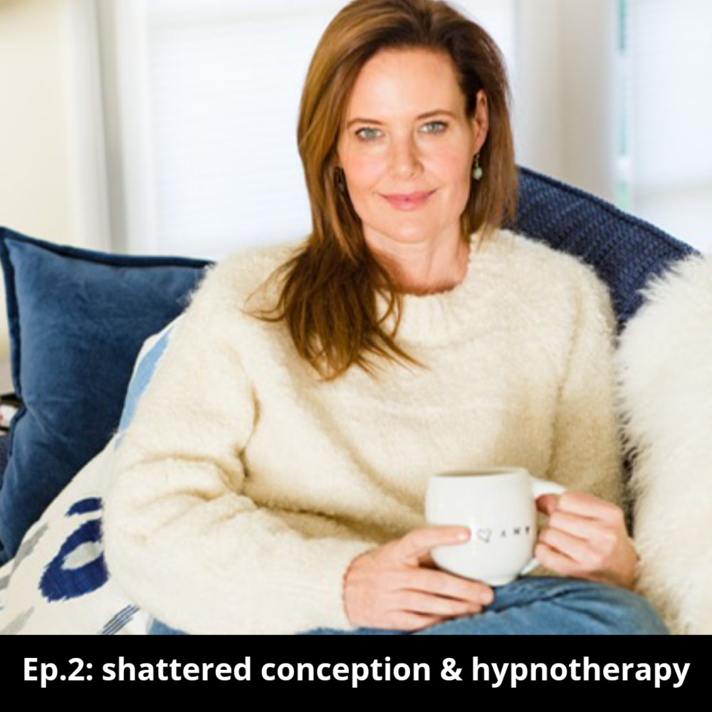 Ep 2, Discussing the Healing Benefits of Hypnotherapy with Amy Budden  Click  here  to listen