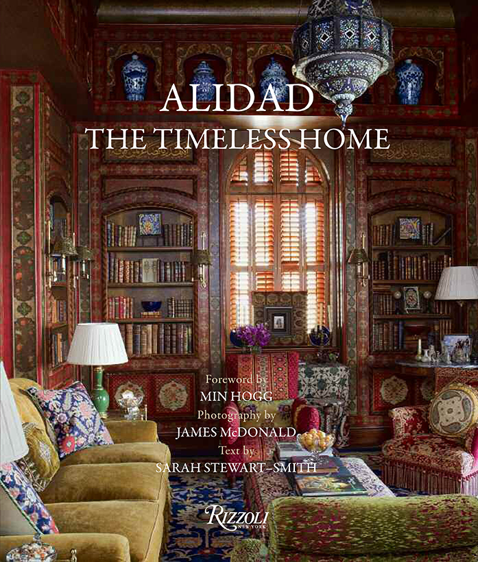 ALIDAD, THE TIMELESS HOME - 'The Timeless Home', published by Rizzoli, is Alidad's long-awaited first book, in which he guides the reader through his design philosophy explaining the many influences, both personal and art historical, which are fundamental to his unique aesthetic.The book offers a visually stunning and intellectually stimulating survey of the award-winning designer's latest completed projects,  from apartments in London and Paris, villas in Beirut and Kuwait, to seaside homes in Sardinia and Cornwall.To buy Alidad's book, click on this link to take you to Amazon.