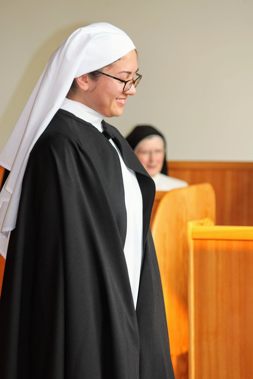 In religious life you will be called Sr. Diana Marie of the Divine Mercy!