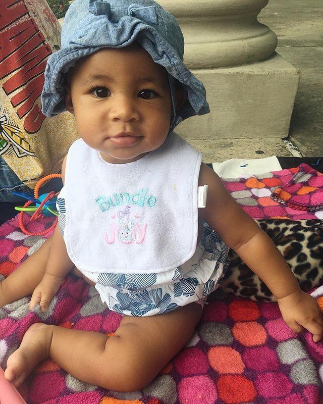 Because Baby Sunflower will be 2 very very soon🌻 #RakimAssata #LilRoussell #BabySunflower #tbt