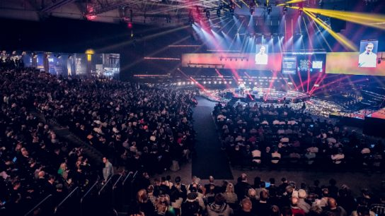 """Slush - I'm keynoting on the Central Stage! I'll be talking about the biggest problems in healthcare that entrepreneurs can address. Described by many as """"Burning Man meets TED"""", Slush has grown in just a few short years to 17,500 attendees and 1 million live stream viewers."""