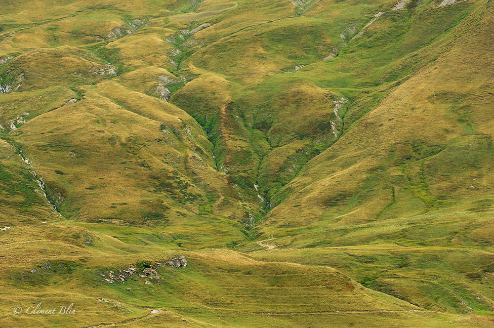 Alpage, Massif du Beaufortain, combe de la Neuva.