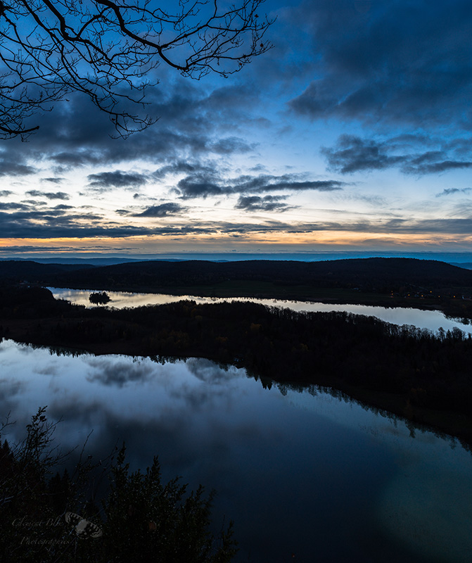 Lac d'Ilay et du Grand Maclu, Jura.