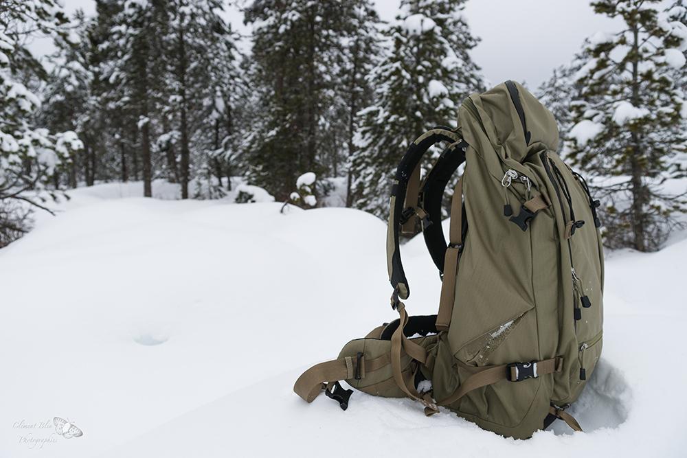 F-stop sukha dans la neige
