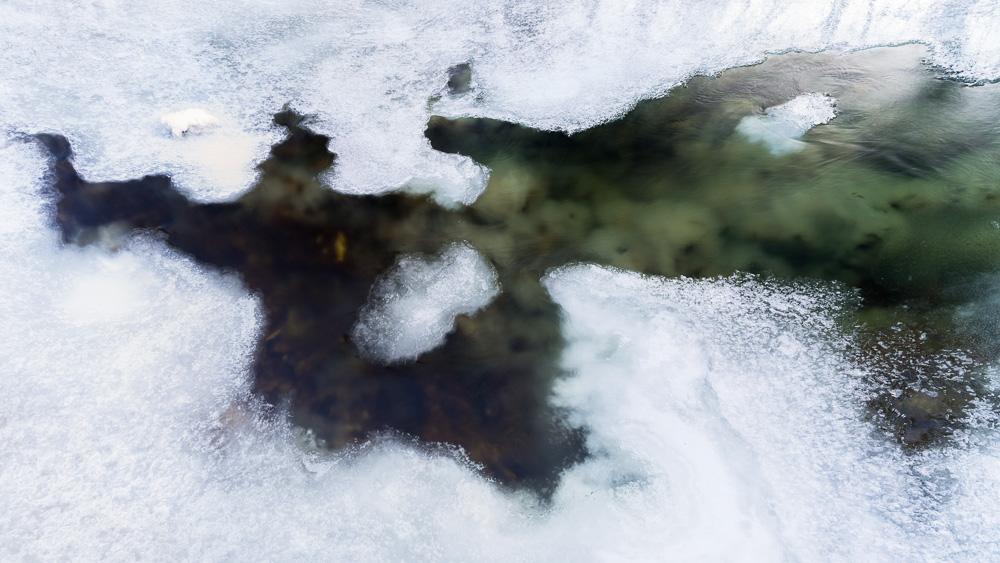 Estuaire de glace