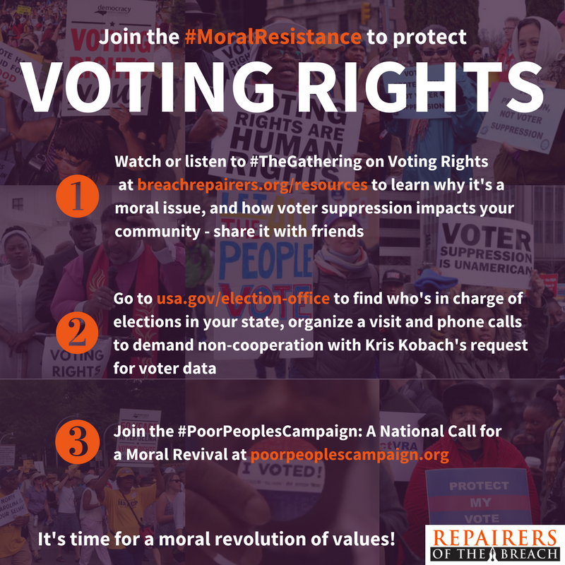 voting rights action