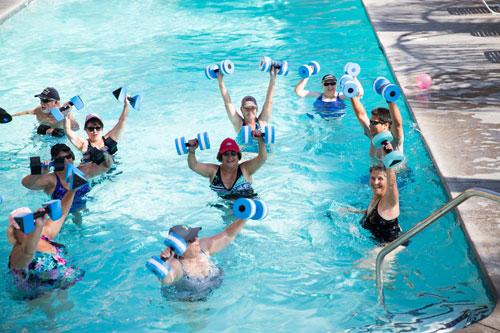 Aquatic Classes & Year-Round Swimming