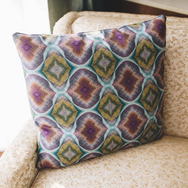 PURPLE DIAMOND LANDSCAPE 2 WOVEN REPEAT PILLOWCASE . . . Photo credit: @whitneyknutsonphotography