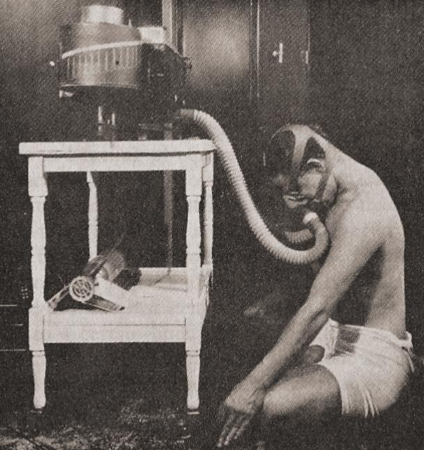 Pranayama Testing, early 1930s