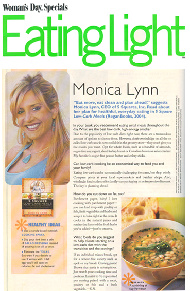 Eating Light Magazine March, 2005