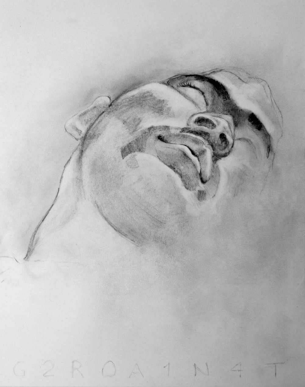 Dan 2 Graphite on Paper 11x14  $150.00
