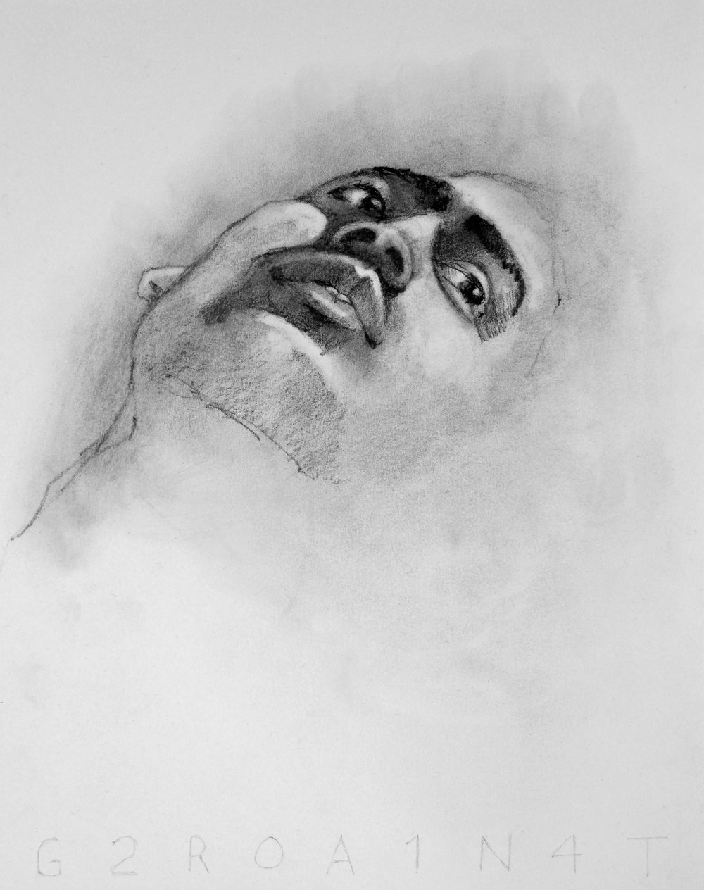 Dan 3 Graphite on Paper 11x14   $150.00
