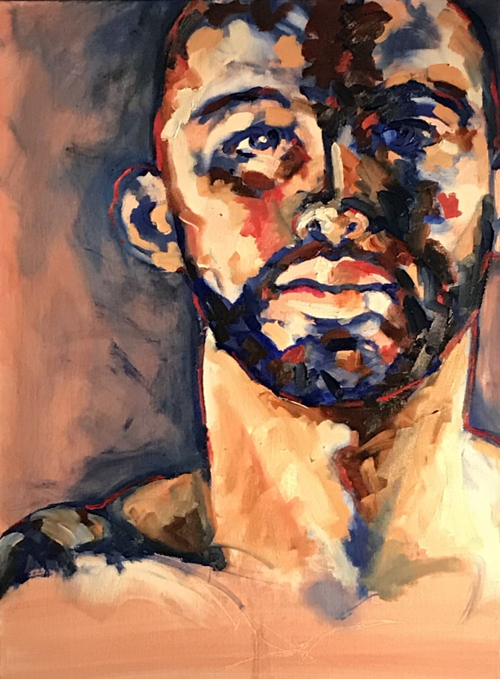 Simon Oil On Canvas 16x20  $800
