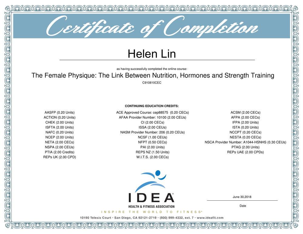 About Helen Happy Helen Fitness