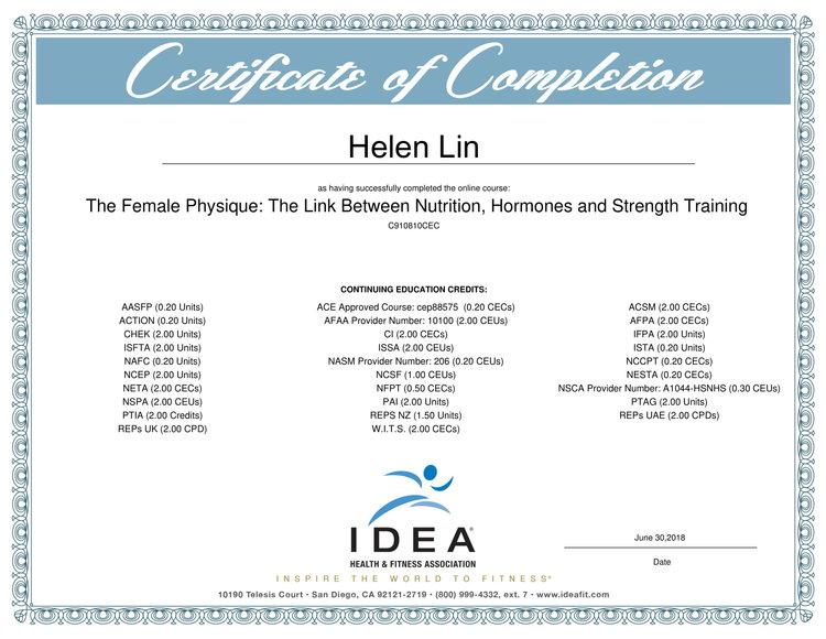 About Helen — Happy Helen Fitness