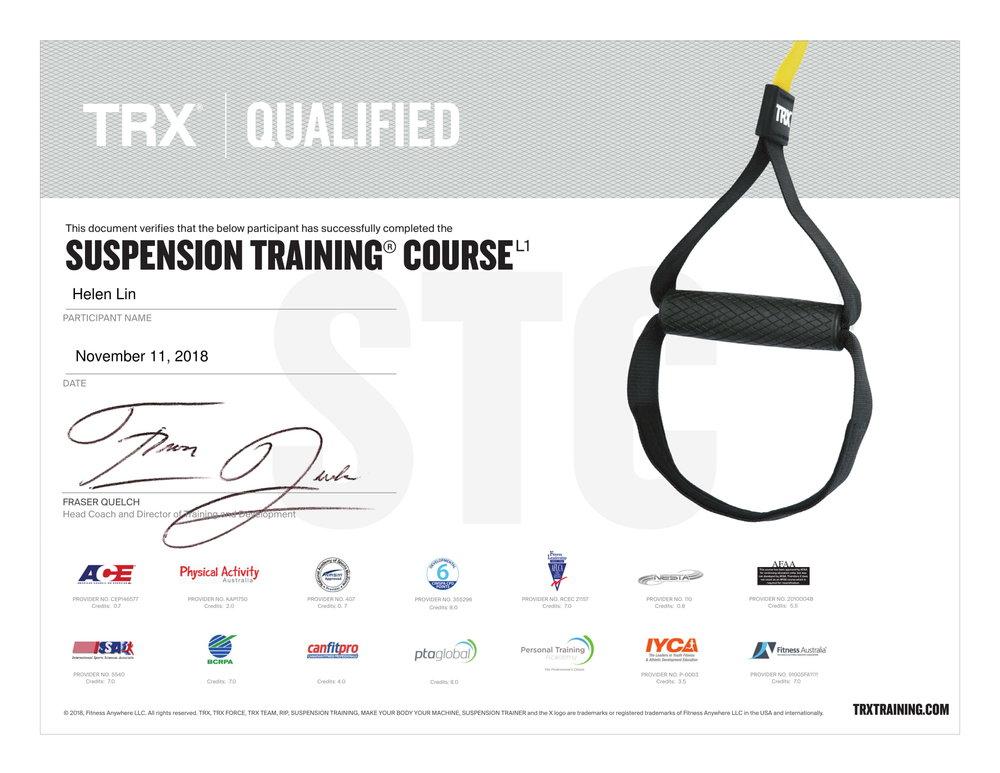 TRXCertificate-Helen Lin-TRX Suspension Training Course-1.jpg