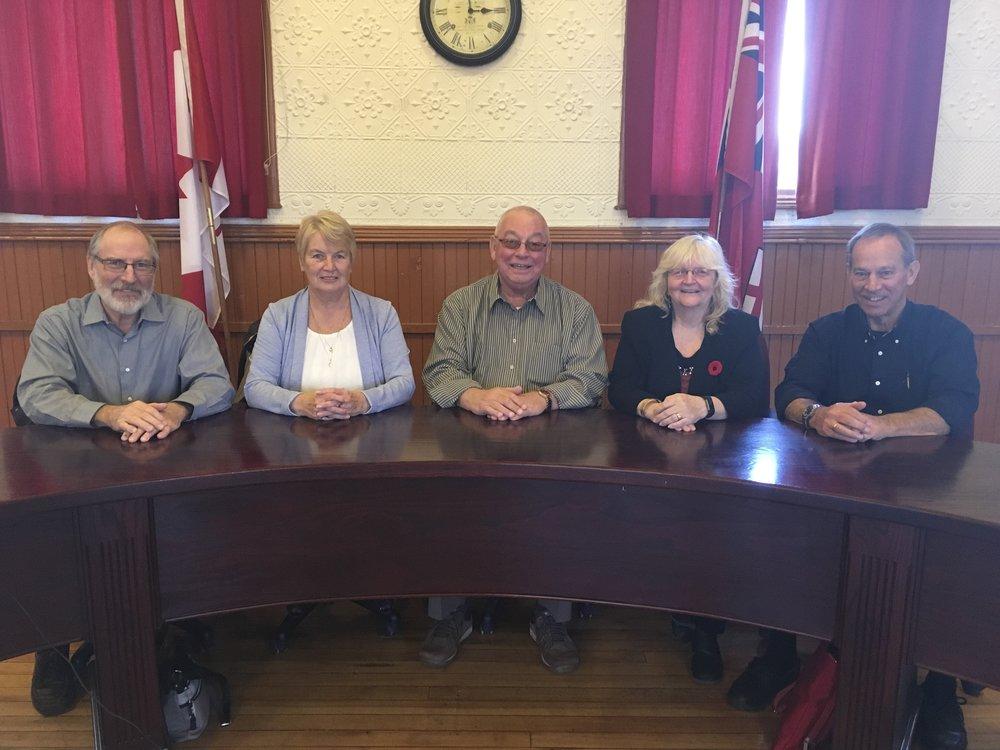 Outgoing council.