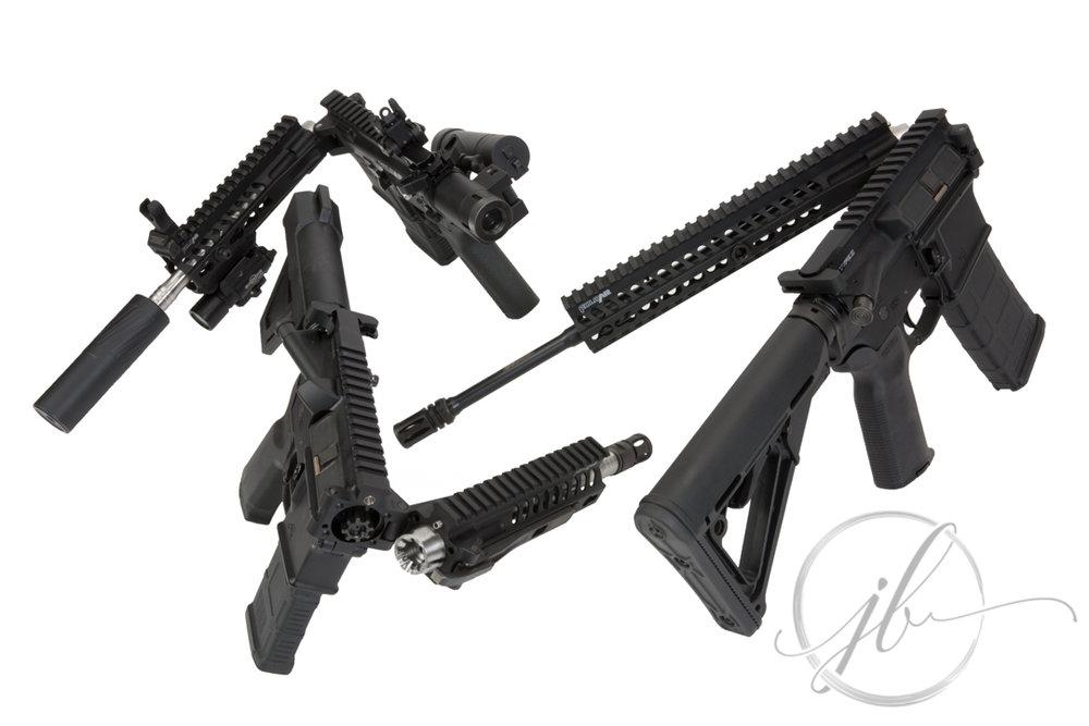 Louisiana Gun Photography