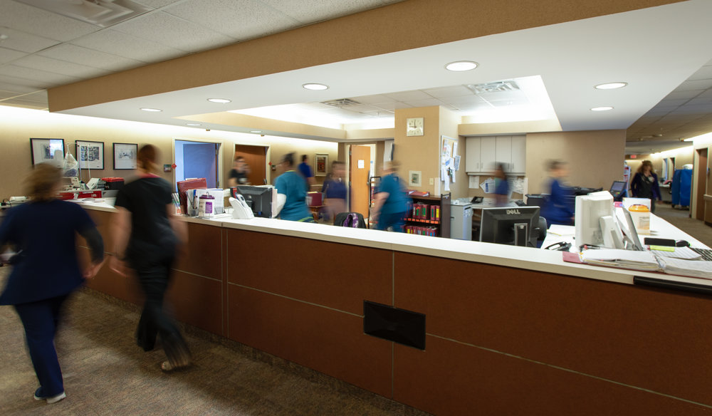 Commercial Bossier Hospital Photography