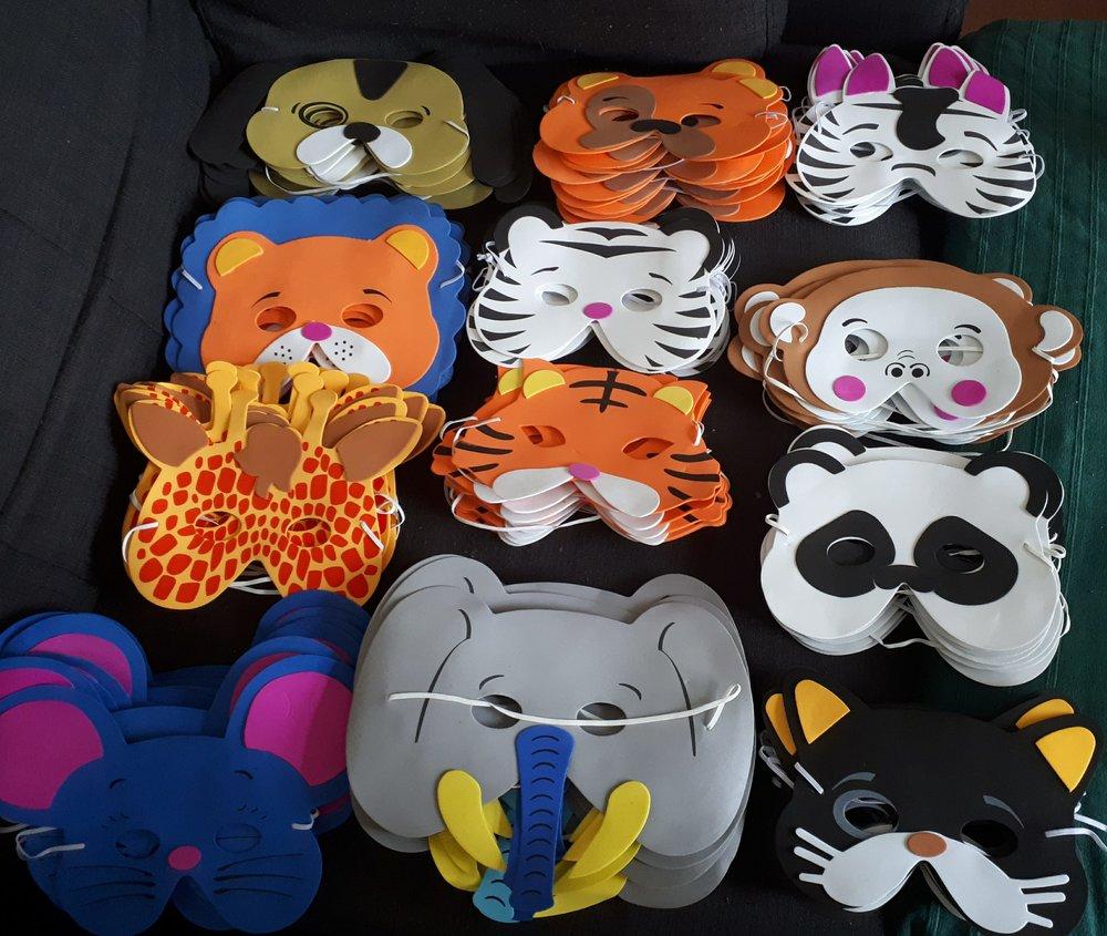 colchester kids animal masks for Charity Ball OWAP AR.jpg