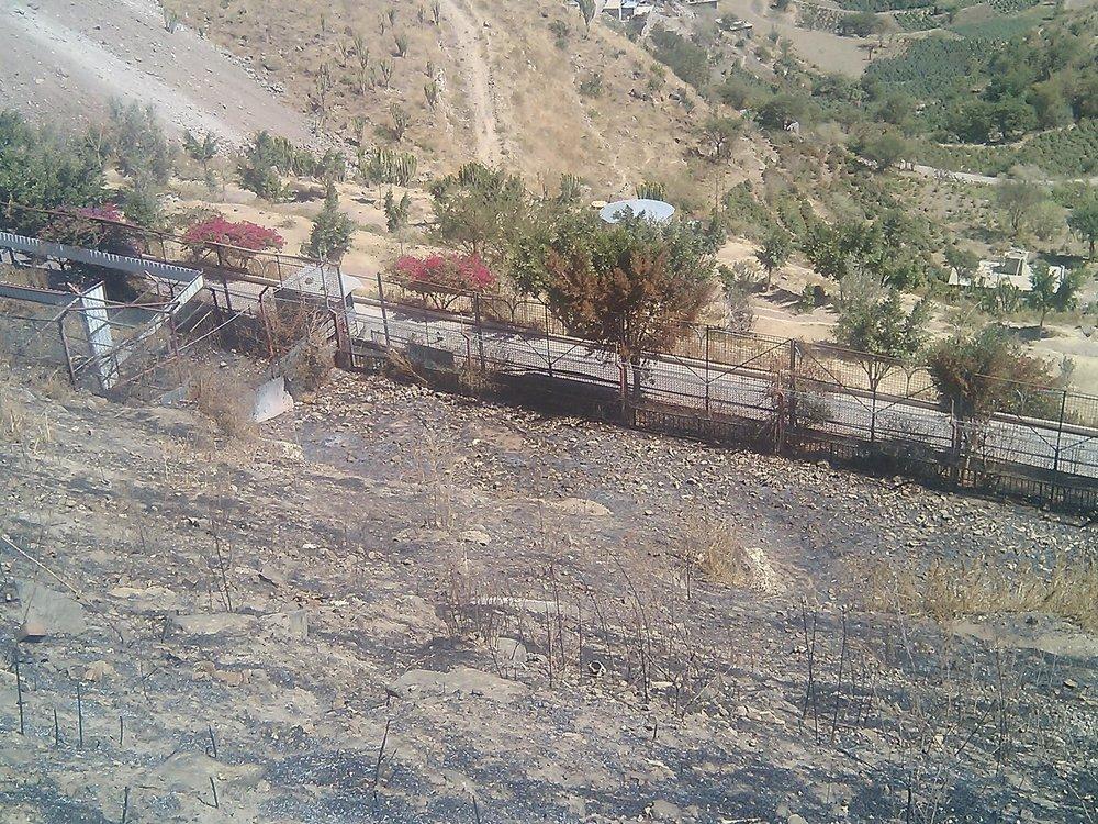 IBB ZOO OPEN RANGE lions enclosure ready for repair and raising haitham's pics 17 FEB 2018.jpg