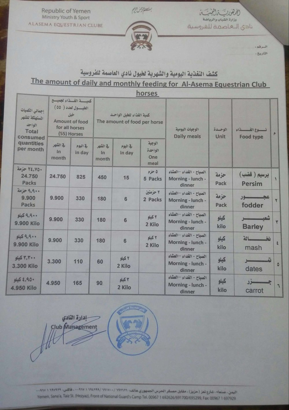 Arabian Horses Riding School Sana'a yemen to OWAP-AR 6 oct 2018 page 2.jpg