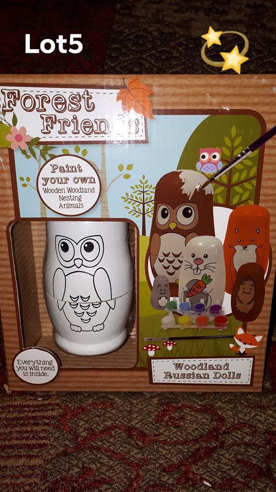 auction 2018 OWAP AR Xmas 2018 Paint your own Wo9den Woodland Animal LOT 6.jpg