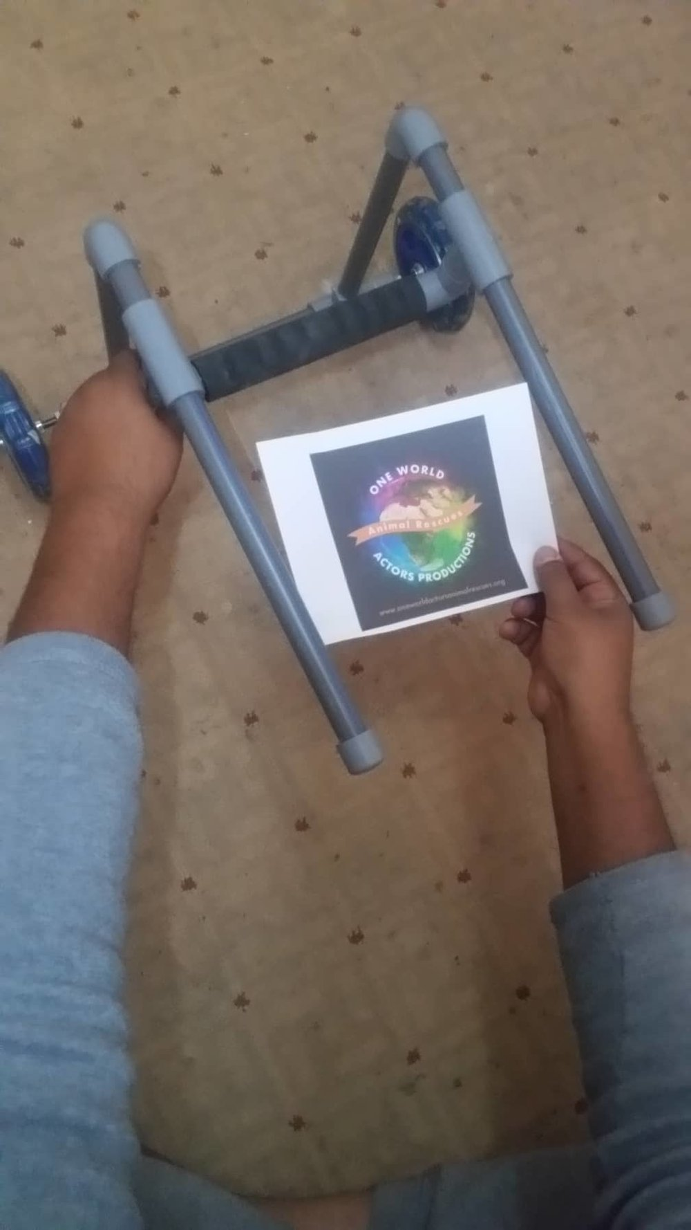 stray wheelchair made by Hisham OWAP AR 30 Jan 2019 sana'a yemen.jpg