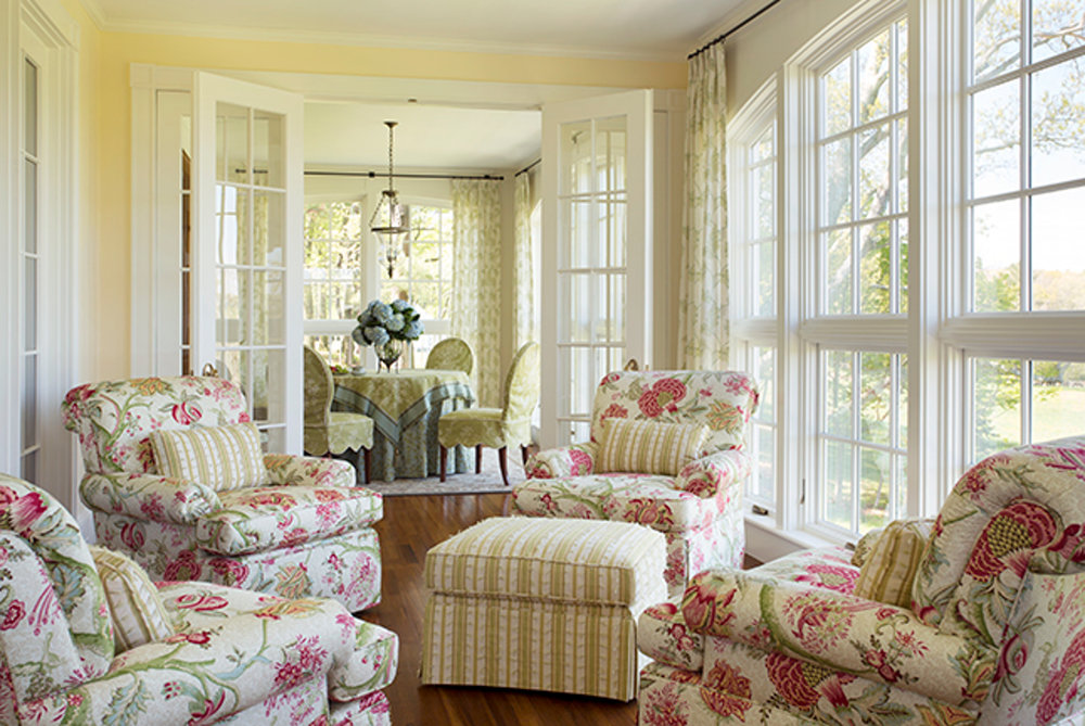 gentleman's farm sunroom
