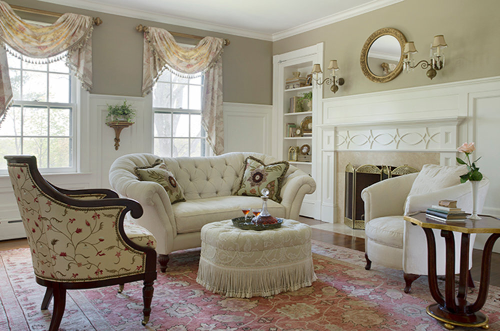 gentleman's farm master sitting room