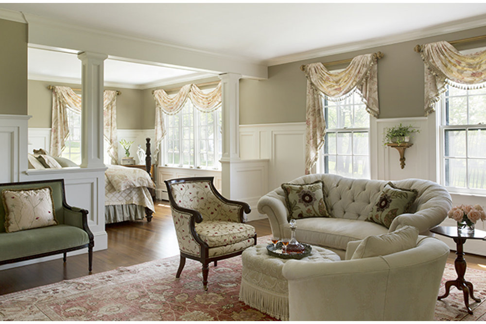 gentleman's farm master suite