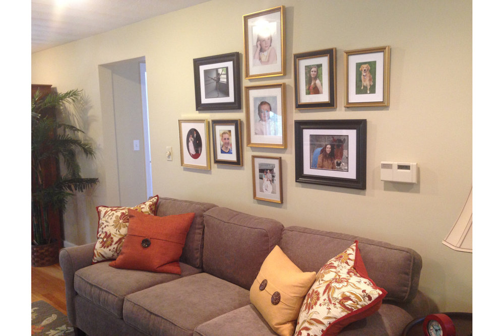 family room photos
