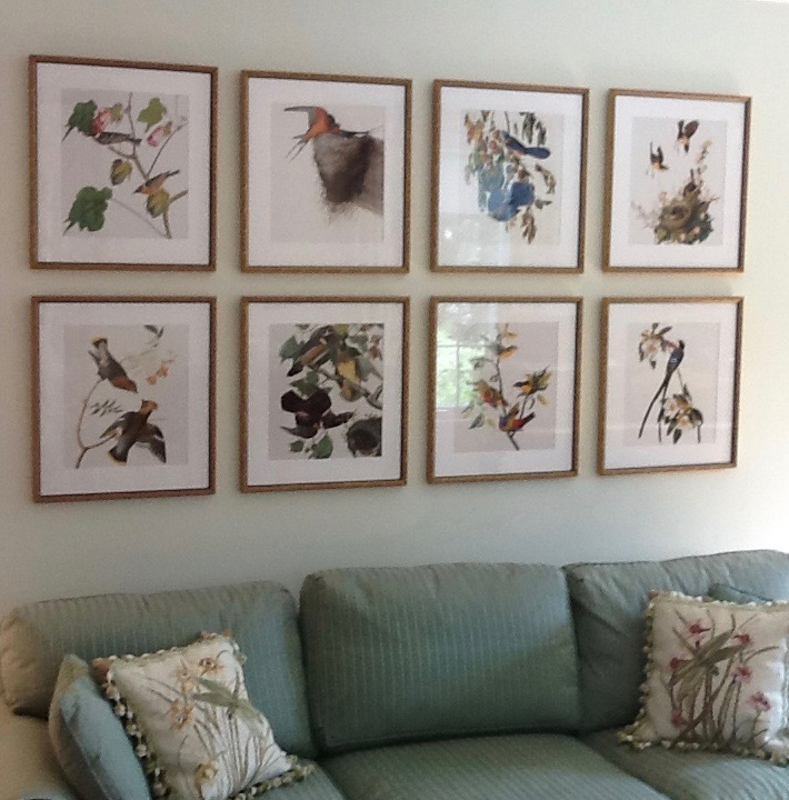 wall gallery art arrangement, picture hanging tips